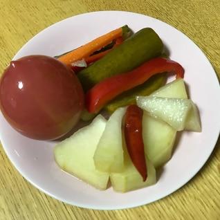 自家製梅酢で作る 大量野菜のピクルス