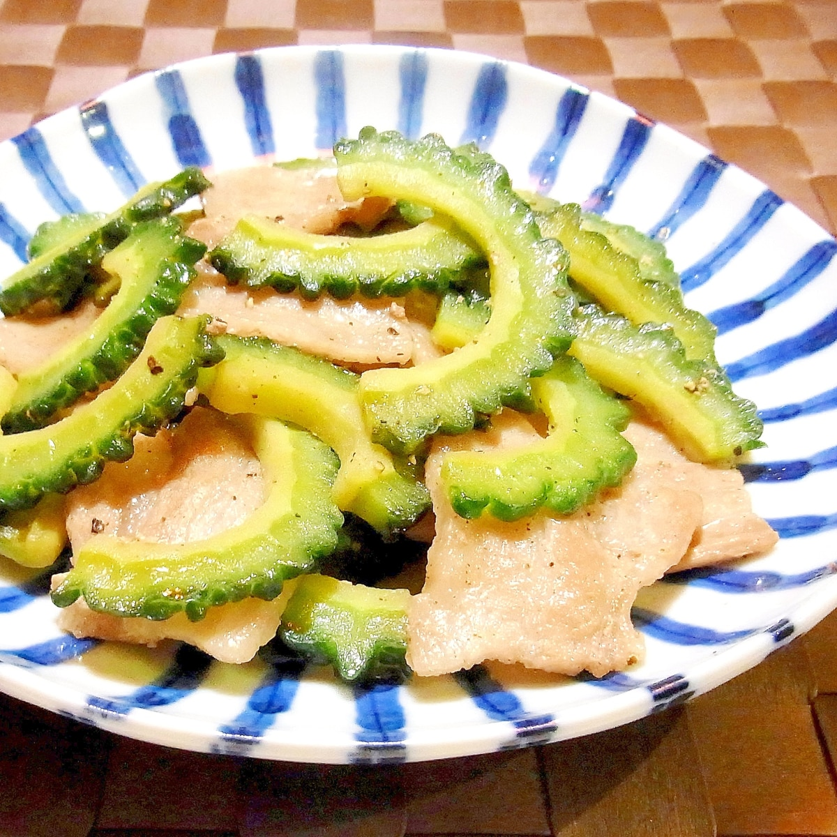レシピ ゴーヤ 豚肉
