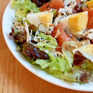 ニース風をアレンジ♡ハーブチキンのおもてなしサラダ