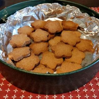 全粒粉のバタークッキー♪☆