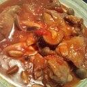 煮込むほど美味しい!鶏肉と茄子のトマト煮♪