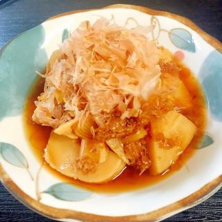 竹の子の土佐煮