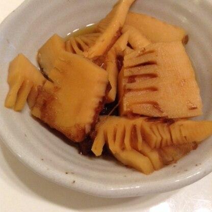 タケノコの水煮が余ったので作ってみました。 甘口で私好みの味!美味しくいただきました(´▽`) ご馳走様☆
