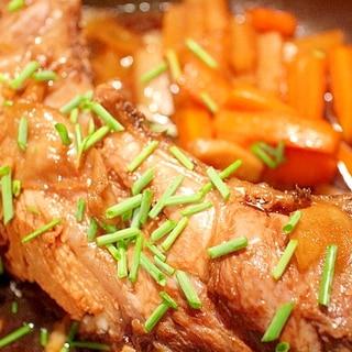 【マグロのカマの煮物】鍋に入りきらない魚を煮るコツ