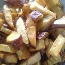レンジで時短 給食の味 大学芋