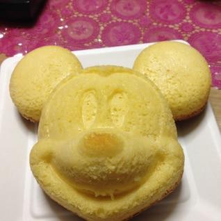 かわいいミッキースポンジケーキ☆管理栄養士☆