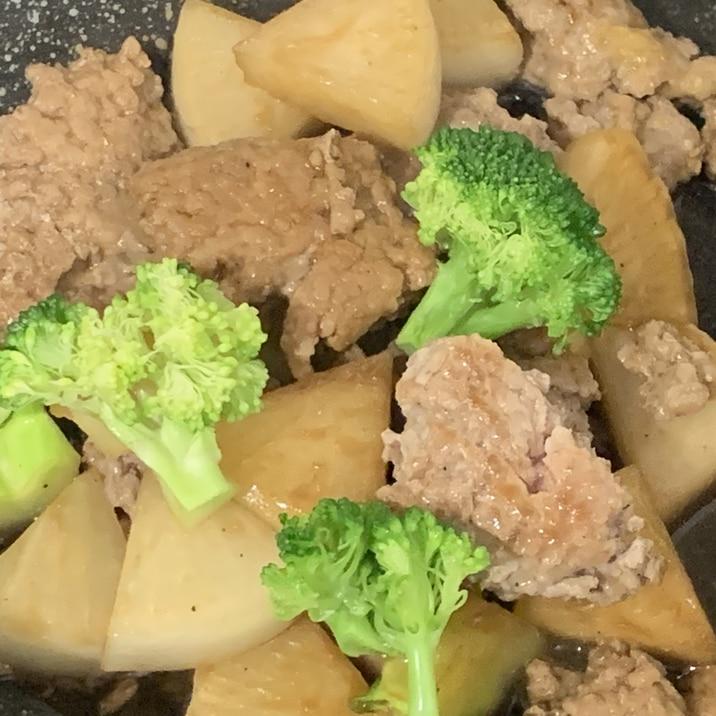 豚そぼろ生姜焼き煮