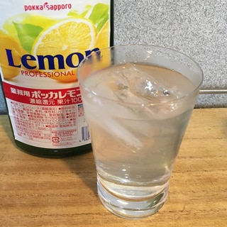 コストコ素材で《レモン水の素》