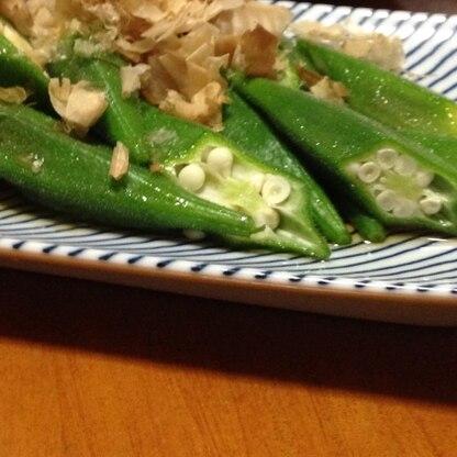 季節のお野菜を美味しくいただけました。めんつゆって万能ですね!