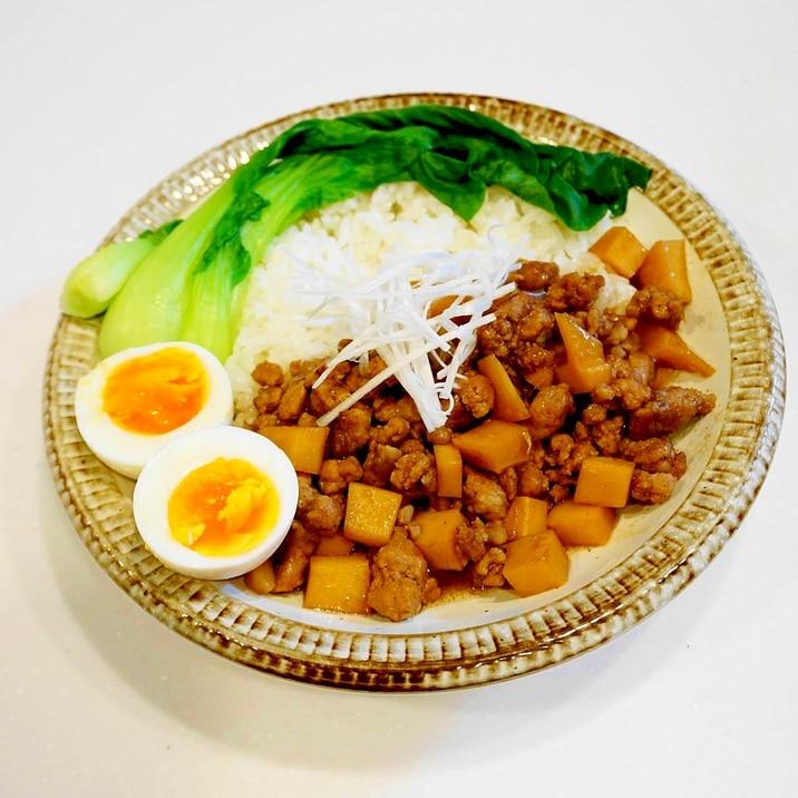 豚ひき肉で作る!ルーローハン(ルーロー飯・魯肉飯)