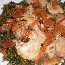 フライパンで鶏もも肉焼き
