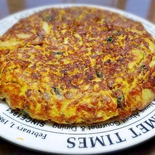ジャガイモとひき肉のスパニッシュオムレツ★