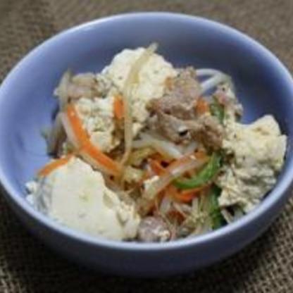 豆腐チャンプル-