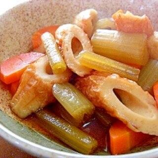 ふきと竹輪の煮物