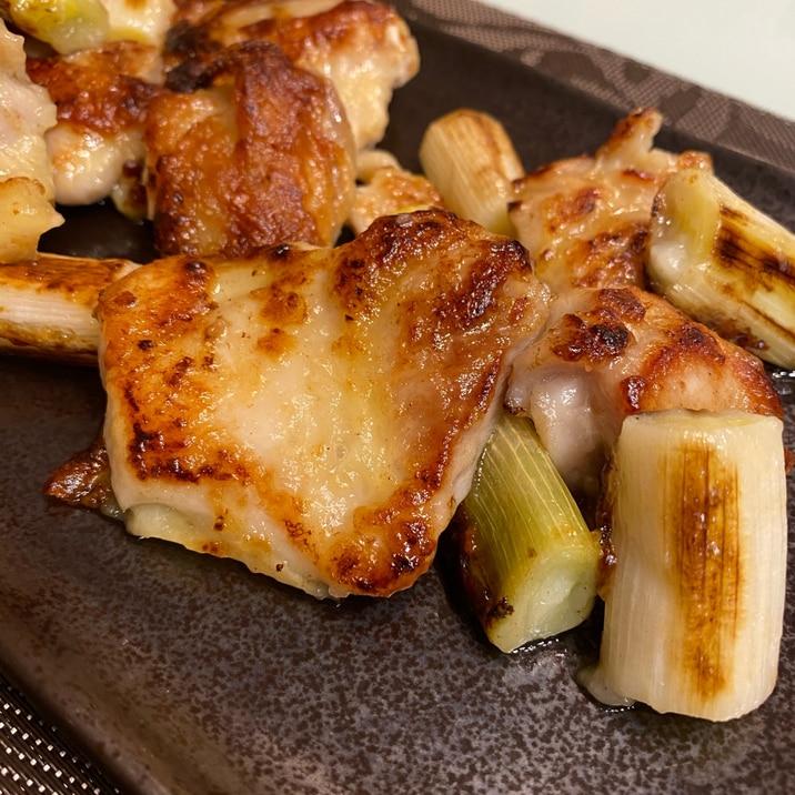 【下味冷凍】鶏もも肉の串なし塩焼き