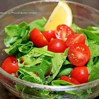 ルッコラとプチトマトのサラダ