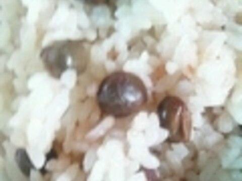 ツタンカーメン豆ご飯♪
