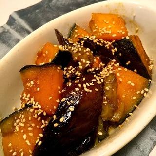胃腸に優しい★とろとろ茄子とかぼちゃの照り焼き