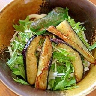 麺つゆ+ポン酢の冷やしうどん
