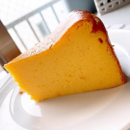 ちょっぴりヘルシー!かぼちゃのチーズケーキ
