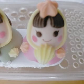 ケーキの上の砂糖菓子(メレンゲドール)の食べ方