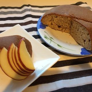 成長期のお子様におすすめ炊飯器でプロテインケーキ*