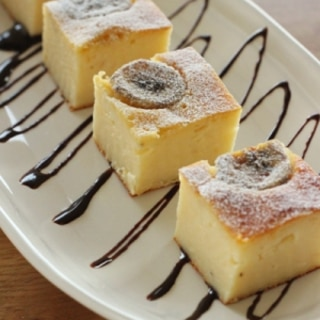 簡単!バナナヨーグルトケーキ