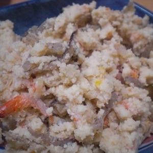 普通のおからの煮物