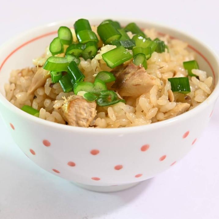 簡単シンプル!サバ缶で作るサバの炊き込みご飯♪