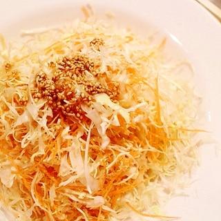 保存野菜で3分クッキング★やみつき千切りサラダ