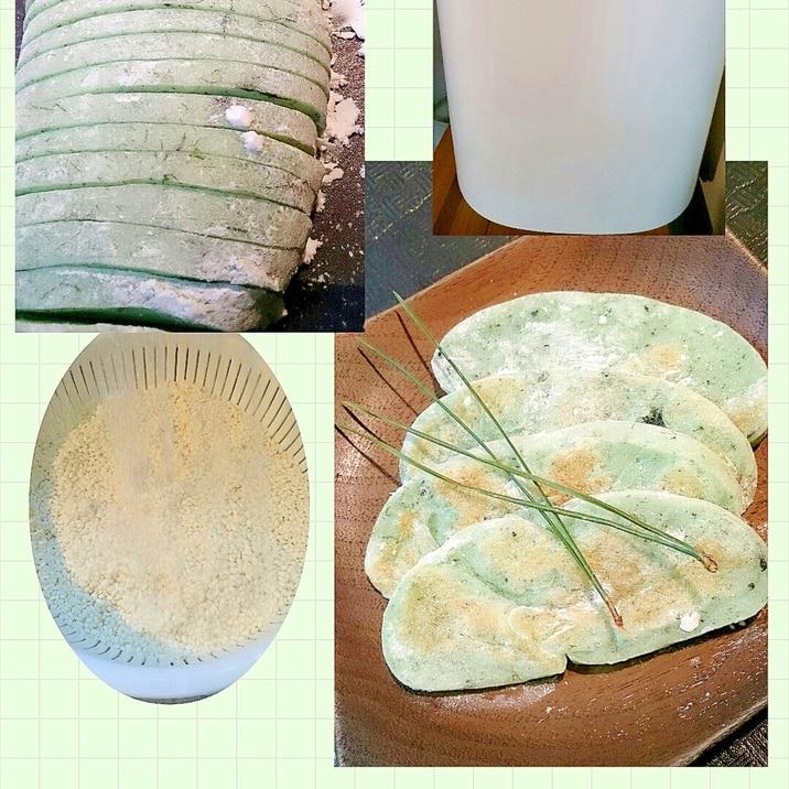 ホームベーカリーで餅こね◎海苔の生かき餅