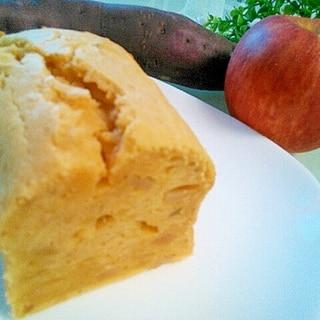 秋、たっぷり♡さつまいもとリンゴのパウンドケーキ