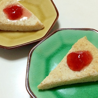 ◎炊飯器でお豆腐ケーキ