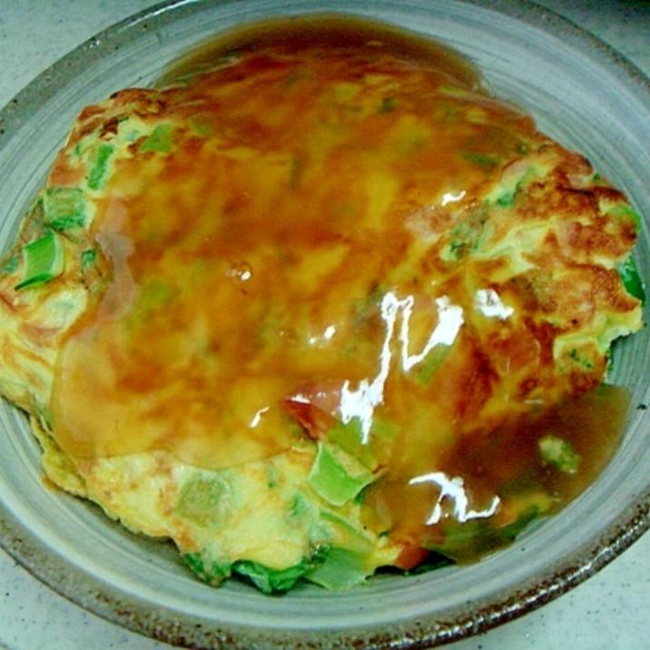 小松の卵焼き甘酢あん掛け丼