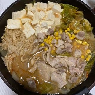 お箸が進むニンニク辛味噌鍋つゆ