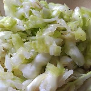 キャベツの酢の物☆ピクルス風簡単&ヘルシーサラダ
