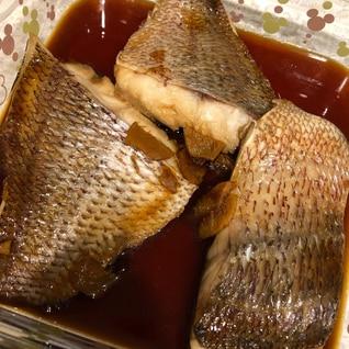 甘め 鯛の煮付け