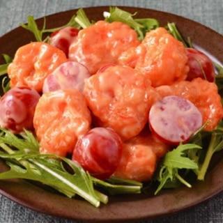 トマトエビマヨ