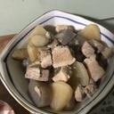 こんにゃく大根豚の煮物