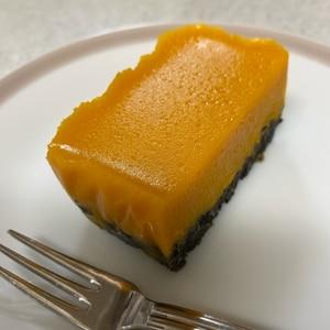 混ぜるだけ*☆オレオでかぼちゃムースケーキ☆*。