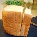 HBでミルク風味のしっとり食パン