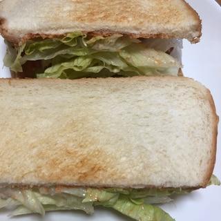 ベーコンレタストーストパン