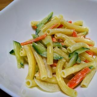 細切り野菜のマカロニサラダ