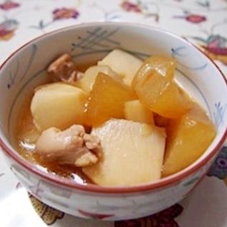 冬瓜と里芋の煮物(手順写真付き)
