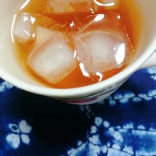 番茶と紅茶とレモンアイスティー