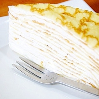 *超簡単・美味しい☆ミルクレープ*