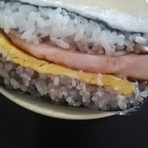 ♡おにぎらず♡ベーコン&キャベツ&卵