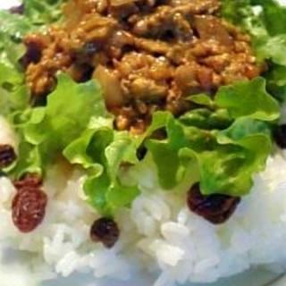 豆乳と鶏ひき肉で作るヘルシードライカレー♪