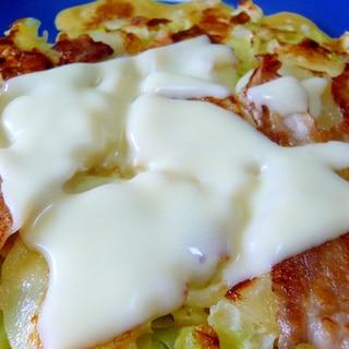 ❤ ポテトチーズのお好み焼き ❤