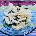 山芋と韓国海苔の簡単和え物